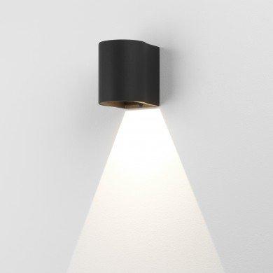Astro Lighting - Dunbar 100 LED 1384003 (7945) - IP65 Textured Black Wall Light