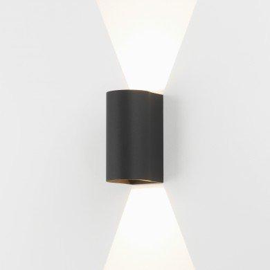Astro Lighting - Dunbar 160 LED 1384004 (7946) - IP65 Textured Black Wall Light