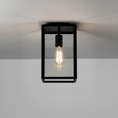Astro Lighting - Homefield Ceiling 1095021 (7956) - Textured Black Ceiling Light