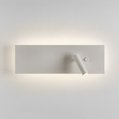 Astro Lighting - Edge Reader LED Single Switch 1352008 (7959) - Matt White Reading Light