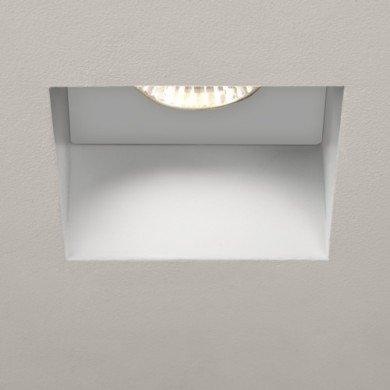 Astro Lighting - Trimless Square 1248005 (5670) - IP65 Fire Rated Matt White Downlight/Recessed Spot Light