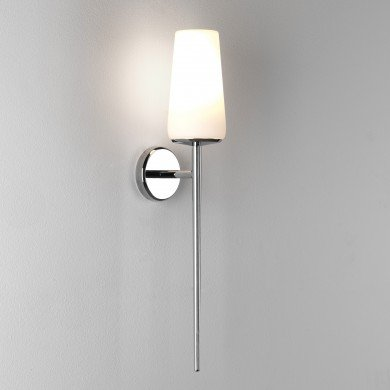 Astro Lighting - Beauville 1388001 (7978) - IP44 Polished Chrome Wall Light Excluding Shade