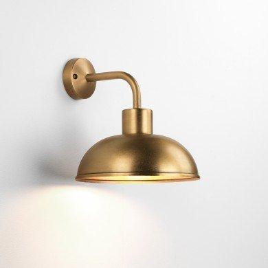 Astro Lighting - Stornoway 1389001 (7980) - Coastal Brass Wall Light