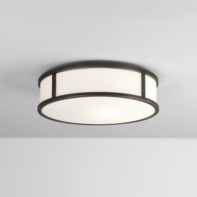 Astro Lighting - Mashiko Round 300 1121043 (7986) - IP44 Bronze Ceiling Light