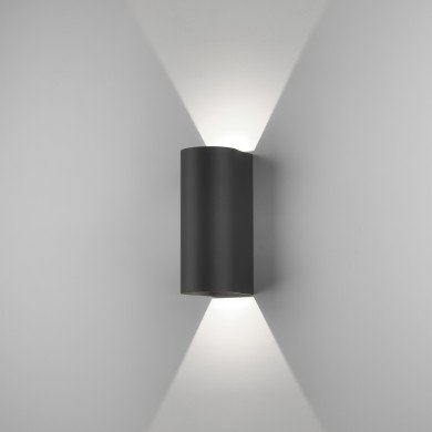 Astro Lighting - Dunbar 255 LED 1384005 (7992) - IP65 Textured Black Wall Light