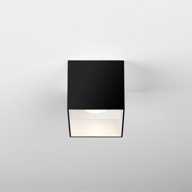Astro Lighting - Osca LED Square II 1252025 (7999) - Matt Black Surface Mounted Downlight