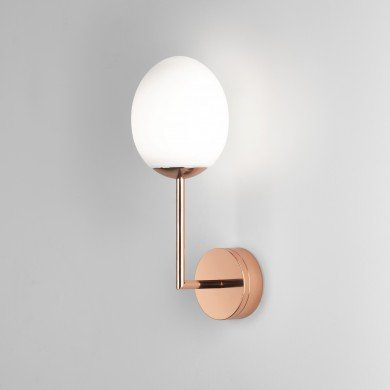 Astro Lighting - Kiwi Wall 1390001 (8008) - IP44 Polished Copper Wall Light