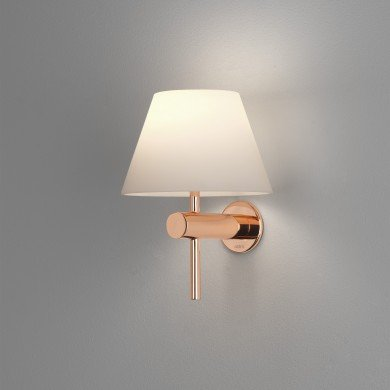 Astro Lighting - Roma 1050010 (8056) - IP44 Polished Copper Wall Light