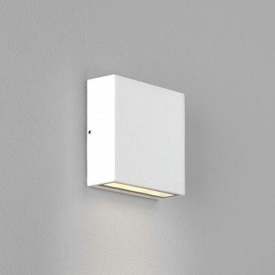 Astro Lighting - Elis Single LED 1331008 (8116) - IP54 Textured White Wall Light