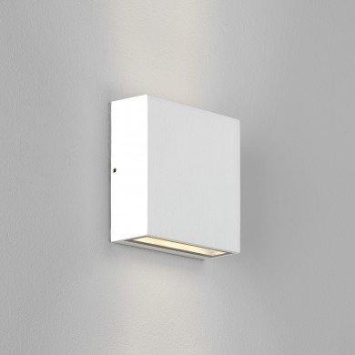 Astro Lighting - Elis Twin LED 1331009 (8117) - IP54 Textured White Wall Light