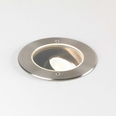 Astro Lighting - Cromarty 120 1378003 (8189) - Coastal IP67 Brushed Stainless Steel Ground Light