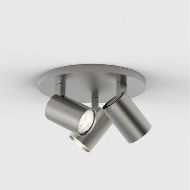 Astro Lighting - Ascoli Triple Round 1286012 (7950) - Matt Nickel Spotlight
