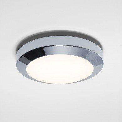 Astro Lighting - Dakota 180 1129006 (843) - IP44 Polished Chrome Ceiling Light