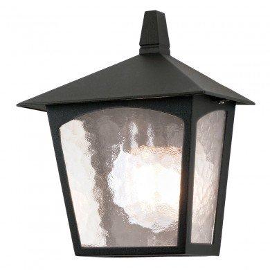 Elstead - York BL15-BLACK Half Lantern