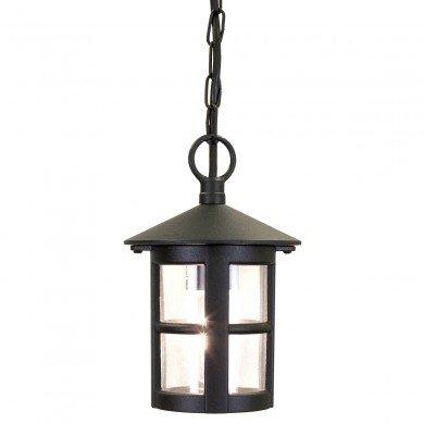 Elstead - Hereford BL21B-BLACK Chain Lantern