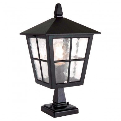 Elstead - Canterbury BL50M-BLACK Chain Lantern