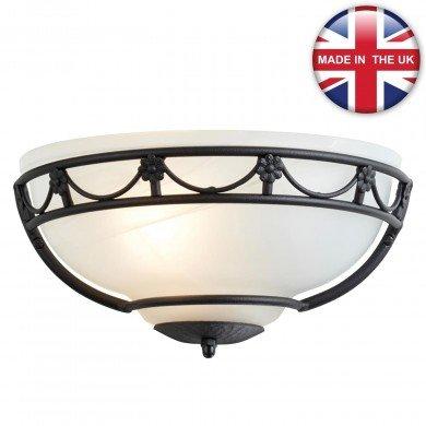 Elstead - Carisbrooke CB-WU-BLACK Wall Light