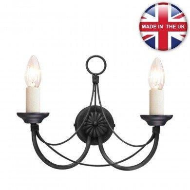Elstead - Carisbrooke CB2-BLACK Wall Light