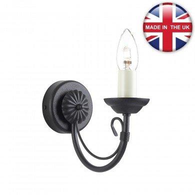 Elstead - Carisbrooke CB1-BLACK Wall Light