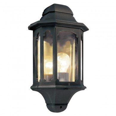 Elstead - Chapel CP7-BLACK Half Lantern