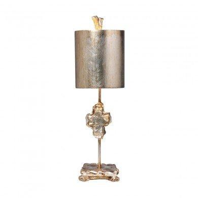 Elstead - Flambeau - Cross FB-CROSS-TL-SV Table Lamp