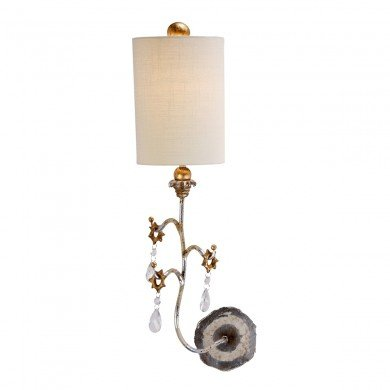 Elstead - Flambeau - Tivoli FB-TIVOLI-W1-SV Wall Light