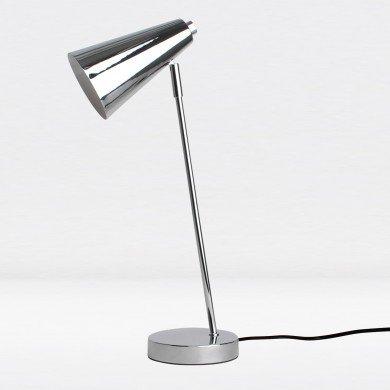 Polished Chrome Retro Inspired Desk Light