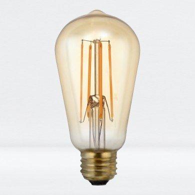 E27 5W ST58 LED Bulb in Warm White