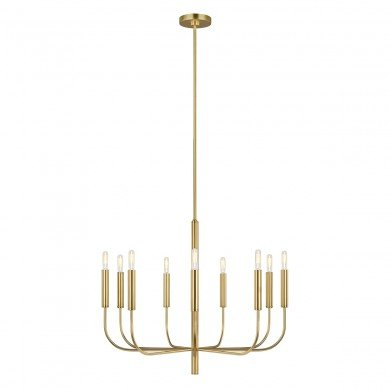 Elstead - Feiss Limited Editions - Brianna FE-BRIANNA9-BB Chandelier
