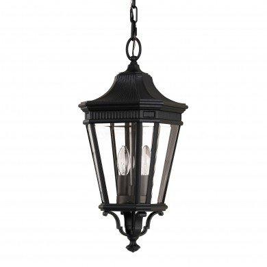 Elstead - Feiss - Cotswold Lane FE-COTSLN8-M-BK Chain Lantern