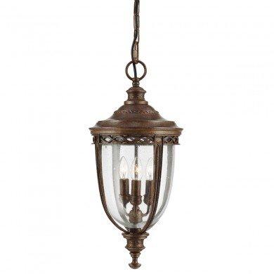 Elstead - Feiss - English Bridle FE-EB8-L-BRB Chain Lantern