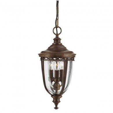 Elstead - Feiss - English Bridle FE-EB8-M-BRB Chain Lantern