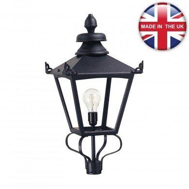 Elstead - Grampian GL1-BLACK Lantern Head Only