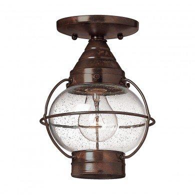 Elstead - Hinkley Lighting - Cape Cod HK-CAPECOD8-S Flush Light