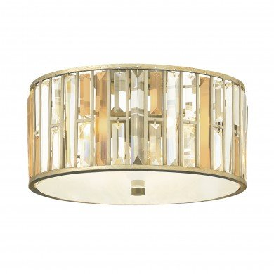 Elstead - Hinkley Lighting - Gemma HK-GEMMA-F-SL Flush Light