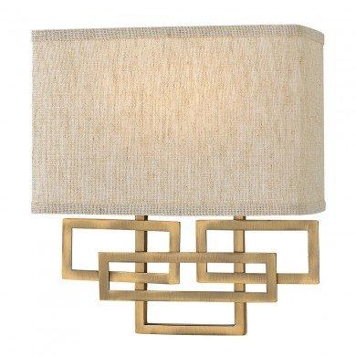 Elstead - Hinkley Lighting - Lanza HK-LANZA2-BR Wall Light
