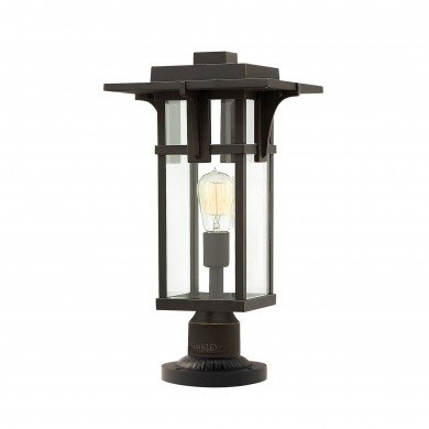 Elstead - Hinkley Lighting - Manhattan HK-MANHATTAN3-M Pedestal