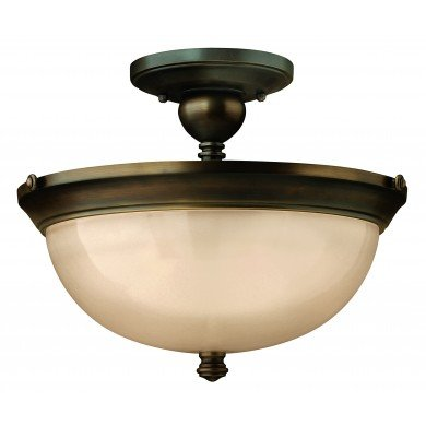 Elstead - Hinkley Lighting - Mayflower HK-MAYFLOWER-SF Semi-Flush