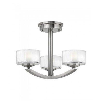 Elstead - Hinkley Lighting - Meridian HK-MERIDIAN-SF Semi-Flush