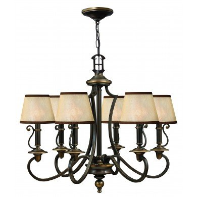 Elstead - Hinkley Lighting - Plymouth HK-PLYMOUTH6 Chandelier