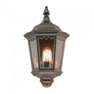Elstead - Medstead Half MD7-BLACK Half Lantern