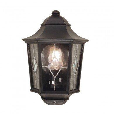 Elstead - Norfolk NR7-2-BLK Half Lantern