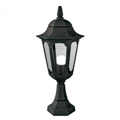 Elstead - Parish PR4-BLACK Pedestal