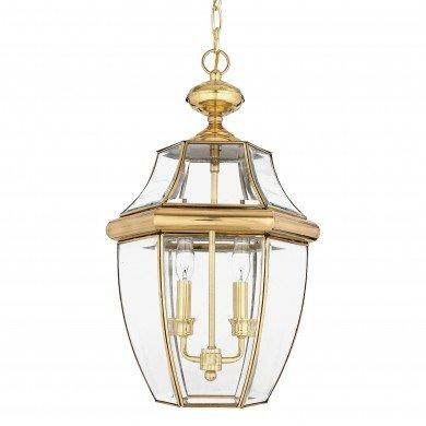 Elstead - Quoizel - Newbury QZ-NEWBURY8-L-PB Chain Lantern