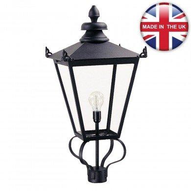 Elstead - Wilmslow WSLL1-BLACK Lantern Head Only
