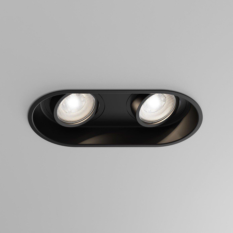 Astro Lighting Minima Twin 1249029 5828 Matt Black Downlight Recessed Spot Light