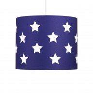 Blue with White Stars 25cm Light Shade
