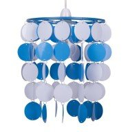 Blue and White Easy Fit Light Shade