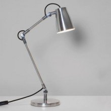 Astro Lighting - Atelier Desk Complete 1224004 (4562) & 1224001 (4559) - Polished Aluminium Table Lamp