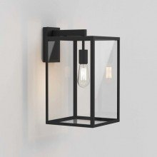 Astro Lighting - Box Lantern 450 1354007 (8504) - Textured Black Wall Light